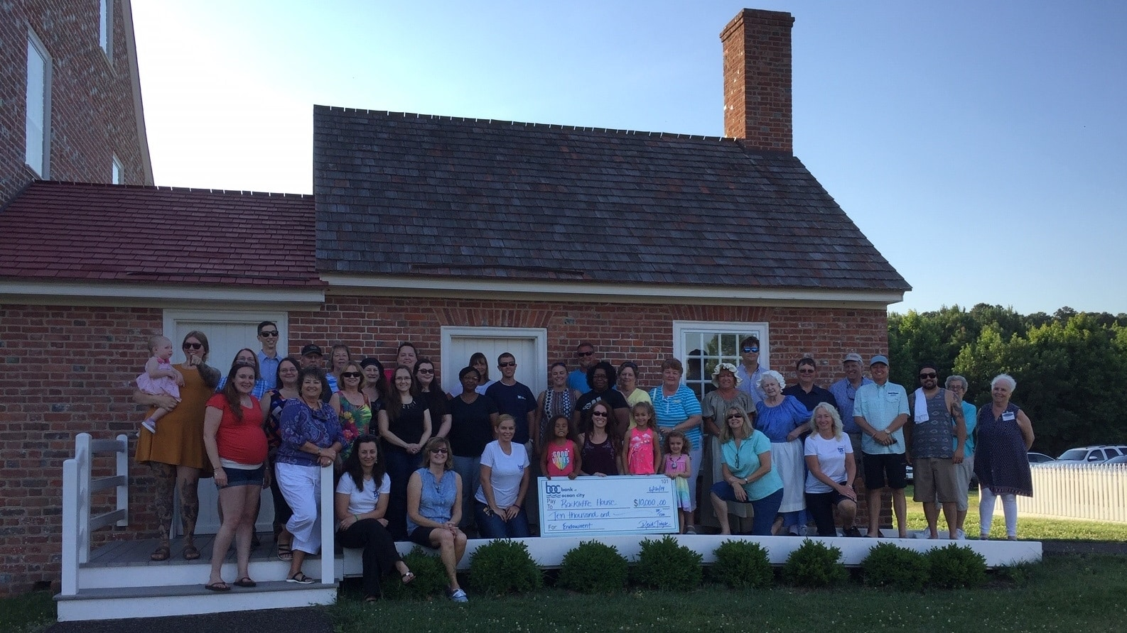 Community Involvement | Bank of Ocean City on robinson plantation house, moundsville penitentiary haunted house, rice plantation house, miller plantation house,